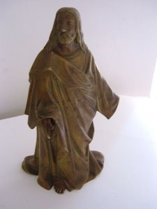 Christ en bronze Image
