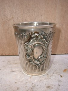 Timbale en argent style Louis XV Image