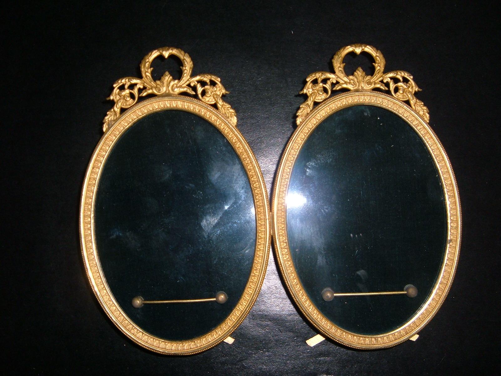 Petit cadre double style Louis XVI Image