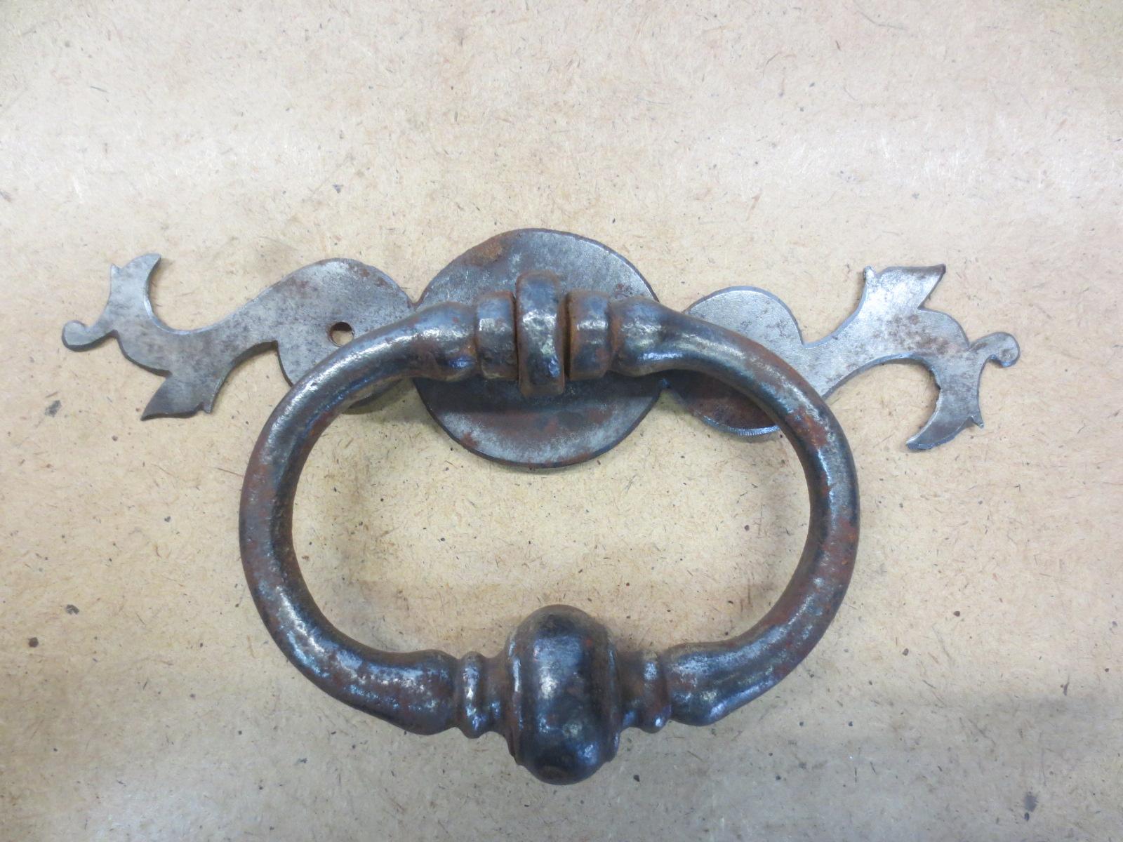 Poignée ancienne fer forgé,XVIIIè Image
