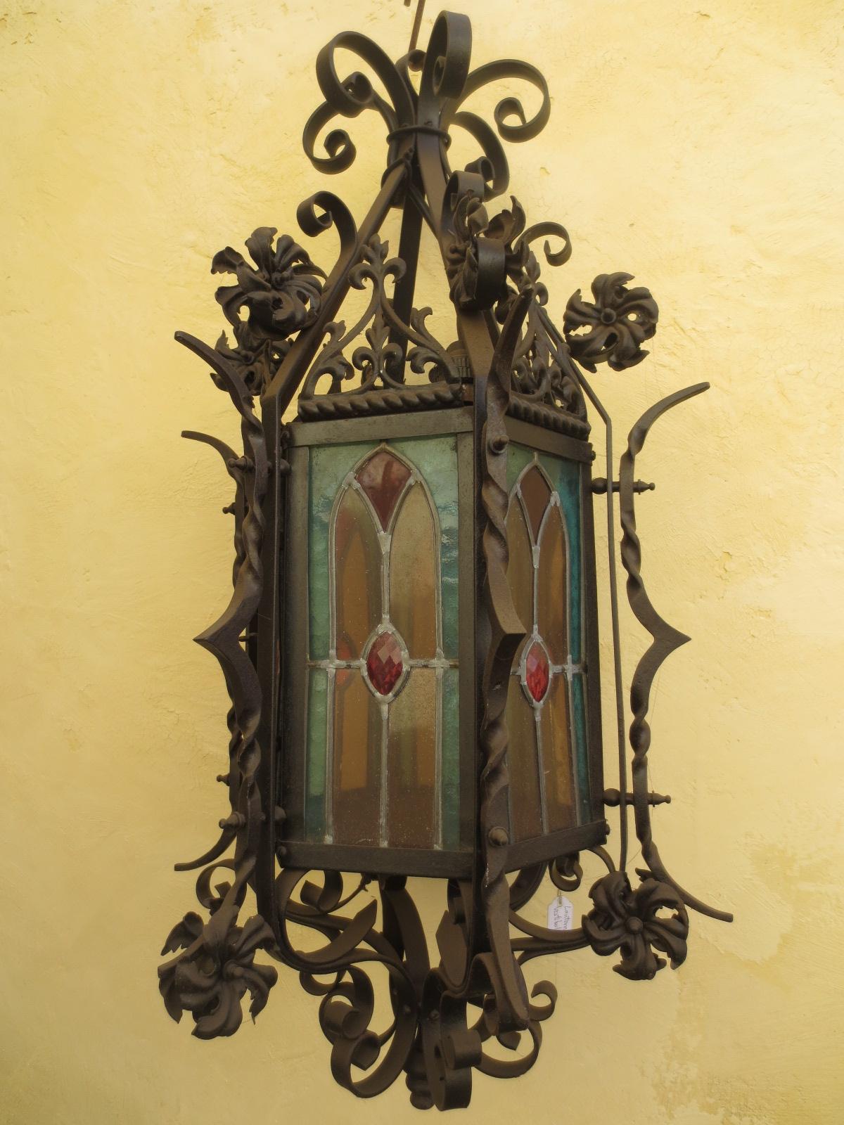 Grosse lanterne de vestibule,époque Napoléon III Image